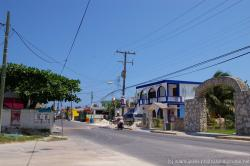Isla Mujeres Benito Juarez street headed north.jpg