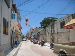 Looking down Matamoros street in Isla Mujeres.jpg