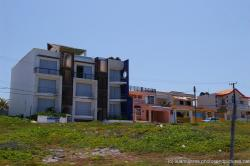 Three story condo and other Isla Mujeres homes on the eastern side of the island.jpg