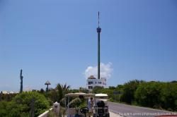 Cellphone radio tower near Punta Sur on Isla Mujeres.jpg