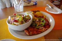Mayan spiced fish dish at Sunset Grill in Playa Norte Isla Mujeres.jpg