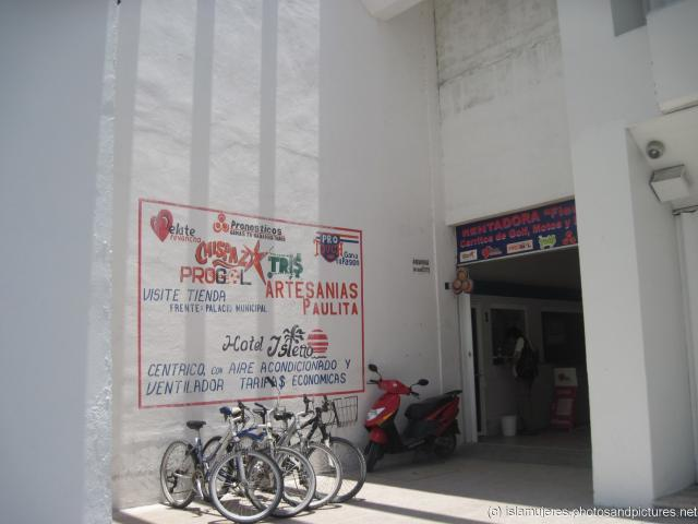 Golf cart and bike rental at Isla Mujeres centro area.jpg