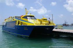 Ultramar Ultra-Jet I ferry service between Isla Mujeres and Gran Puerto Cancun.jpg